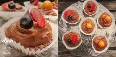 Raw Vegan Chcocolate muffins.Raw Mother&Daughter