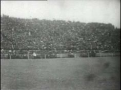 This video contains the oldest college football footage on film known to exist.  The game was played in New Haven, CT with Princeton defeating Yale 11-6.  Princeton finishes the year undefeated while Yale suffered their only loss of the season in this game.    Link -- http://www.sportsvideodaily.com/wp/index.php/2011/11/14/nov-19-1903-princeton-at-yale-football-game/