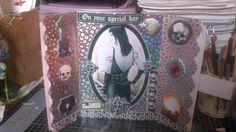 inside goth card..