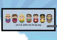 Cute little Big Bang Theory characters