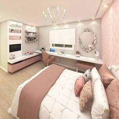 Mais um projeto liiiindo da nossa #GeraçãoCarolCantelli Um quarto fofíneooo do jeito que uma princesãn merece! Autoria @iostarquitetura
