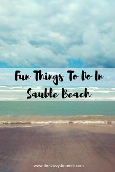 Looking for an amazing beach in Ontario, Canada? Look no further than Sauble Beach. Find out fun things to do in Sauble Beach and surrounding area! Ontario Camping, Ontario Travel, Camping Places, Places To Travel, Places To Go, Beach Fun, Beach Trip, Best Vacations, Vacation Destinations