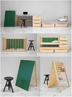 1000 images about modular furniture on pinterest small living spaces modular furniture and tips - Compact cribs small spaces model ...