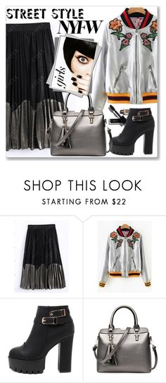 """""""NYFW Street Style"""" by jecakns ❤ liked on Polyvore"""