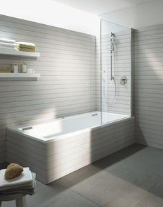 shower over freestanding bath ideas australia - Google Search