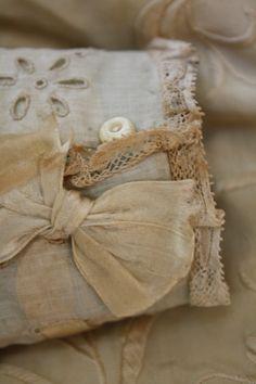 vintage neutral textiles