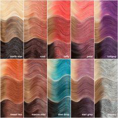 28 Top Blonde Ombre Hair Color Ideas for 2019 - Style My Hairs Hair Streaks, Hair Highlights, Color Highlights, Glitter Hair Spray, Color Fantasia, Unicorn Hair Color, Hair Color Formulas, Lighter Hair, Temporary Hair Color