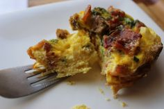 Easy Breakfast Egg Muffins, make ahead, customizable, meals on-the-go