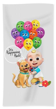 Text Design, Logo Design, Large Beach Towels, Cartoon Design, Kids Songs, Nursery Rhymes, Basic Colors, Beautiful Artwork, Cartoon Characters