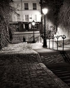 Paris Black and White Photography Montmartre
