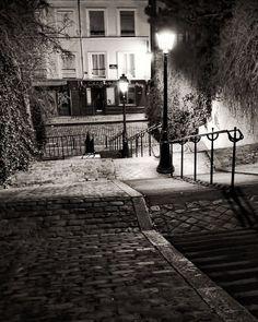 Paris Black and White Photography Montmartre