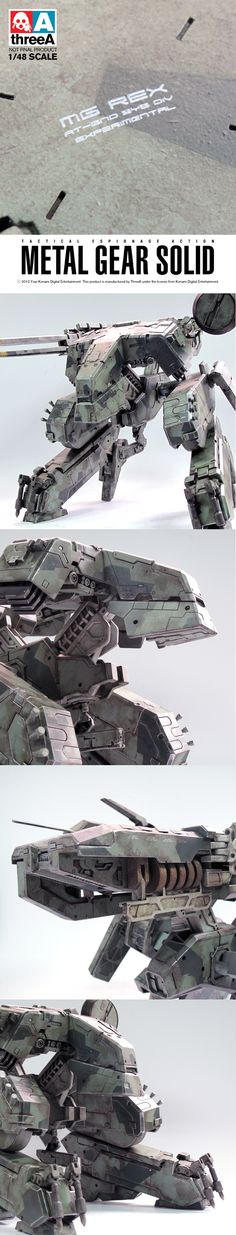 Metal Gear Solid REX - 3A Toys