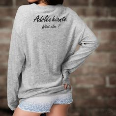 Adoléchiante, What else ? George Clooney, Slogan, Pull Sweat, T Shirt, Graphic Sweatshirt, Hoodies, Sweatshirts, Pulls, Html