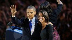 Barack Obama with Malia Obama