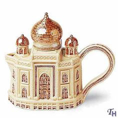 Fitz+and+Floyd+Teapots | Fitz and Floyd Around The World Taj Mahal Miniature Teapot