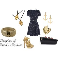 """Daughter of Poseidon/Neptune"" by polyspolyvore on Polyvore"