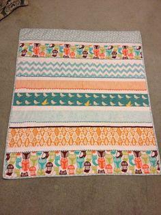 Baby cot quilt