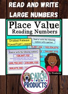 Teaching students place value of reading numbers in math lesson plan for 3rd, 4th grade or 5th? How to teach skills unpacks core standard for kids in math lesson on Teachers Pay Teachers. PowerPoint curriculum for screen sharing in distance learning & print, digital, or virtual worksheets.(Level 3, 4, 5) #Teachersfollowteachers #tpt #education #iteachmath #iteach345 Teacher Pay Teachers, Teach for America, cool math for enriching GT schools first, home school instruction or curriculum ideas.