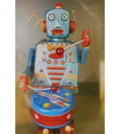 Move to the beat of your own (robot) drum. Santa Clara, Drum, Avatar, Robot, Robotics, Drums, Robots