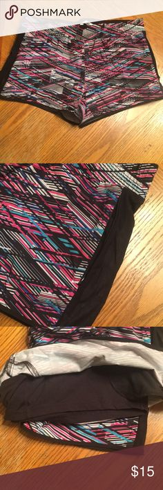 Fabletics Shorts Multi-colored shorts. Lined with zipper pocket detail. Fabletics Shorts
