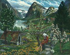 Painting Norway: Beloved artworks of Norway by Nikolai Astrup | Creative Boom