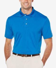 Pga Tour Men's Airflux Solid Golf Polo Shirt - White XXL