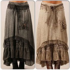 Wonderful No Cost Sewing clothes hippie Style Best Sewing Clothes Hippie Fun Ideas Bohemian Mode, Hippie Boho, Bohemian Style, Sewing Clothes, Diy Clothes, Vetement Hippie Chic, Boho Outfits, Fashion Outfits, Look Boho Chic