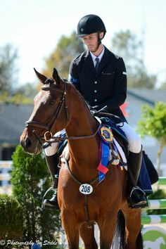 Congratulations Michael Willham and Fernhill Cayenne on your win!
