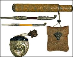 17th century Japanese pipes