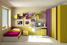 #DormitorioJOVEN | Mágicas composiciones llenas de color e imaginación para tus hijos
