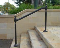 Wrought Iron Outdoor Hand Railings   Hollis Park Hand Rails - Cast Iron Work - Wrought Artworks - Iron work ...