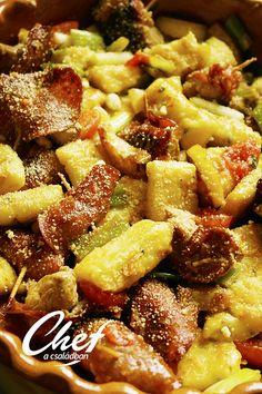 Házi gnocchi recept - Olasz receptek Gnocchi, Pork, Ethnic Recipes, Sweet, Italia, Kale Stir Fry, Candy, Pork Chops