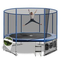 Oz Trampolines Summit Oval Reviews - ProductReview.com.au Trampoline Safety, Net Door, Moving House, Frame Sizes, New Tricks, Bunk Beds, Things That Bounce
