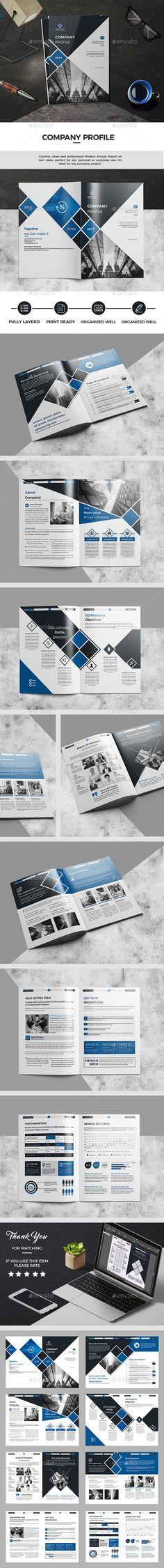 Company Profile — InDesign INDD #brief #visual • Download ➝ https://graphicriver.net/item/company-profile/19269699?ref=pxcr