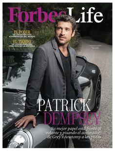 Patrick Dempsey, Grey's Anatomy, Mexico, Magazine, Cover, Life, Fictional Characters, Greys Anatomy, Blanket