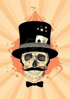 magician skull
