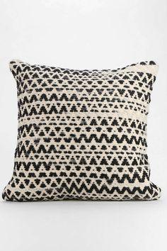Textured Diamond-Stripe Pillow