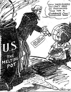 Slideshow, Native & Foreign, America in the Primary Sources for Teachers, America in Class, National Humanities Center Political Art, Political Cartoons, Us History, American History, Society Problems, Primary Sources, The Twenties, Roaring Twenties, Old Pictures