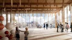 Gallery of White Arkitekter Designs Nordic Region's Tallest Timber Building for…