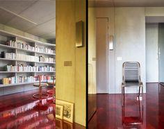 Rodolphe Parente Architecture Design • Architecture commerciale & retail design - Concrete flat