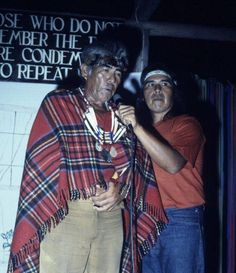 Jose and Al Simon. Father and son of American Indian heritage. They attempted to leave along with Ryan's party but the wife, Bonnie Simon, refused to leave. They are all seen on the tape during this argument. Both father and son died with Bonnie and children on Nov 18th.