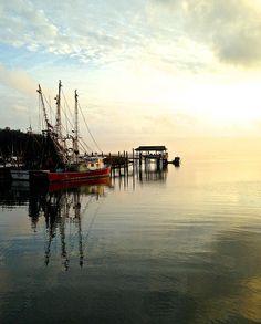 Shem Creek Red Shrimp Boat