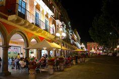 Puebla, tacos árabes en Los Portales