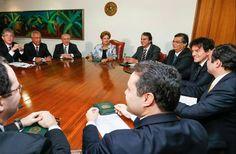 Folha certa : Robinson se reúne com Dilma em Brasília