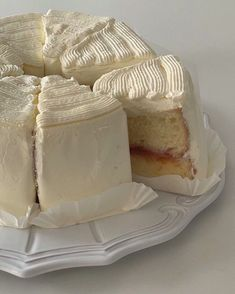 Pretty Cakes, Cute Cakes, Cute Desserts, Dessert Recipes, Good Food, Yummy Food, Think Food, Cafe Food, Aesthetic Food