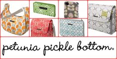Six Sisters Stuff: Petunia Pickle Bottom Review and Giveaway