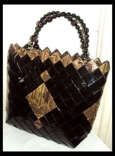 Mexican Candy, Paper Bags, Louis Vuitton Damier, Diy And Crafts, Wraps, Purses, Pattern, Fashion, Log Projects