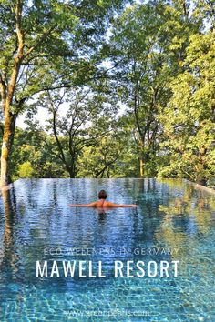 """Mawell Resort - Green Pearls- Mawell Resort – Green Pearls """"Back to nature"""" – at the Mawell Resort in one experiences the perfect connection of and The resort with its fantastic panoramic views is built directly into nature. Us Travel Destinations, Europe Travel Tips, Holiday Destinations, Travel Hacks, Italy Travel, Travel Guide, Aesthetic Couple, Philippines, Road Trip"""