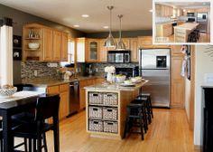 Hometalk :: Going Gray {Gray Kitchen}
