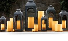 Restoration Hardware Outdoor/Indoor Flameless Candles. These flameless candles with a realistic wick design will never blow out in the wind, melt in the sun, or pose a fire risk. Beautiful, safe, and convenient, they are the perfect candle to light your yard with for summer dining and entertaining. Relax by your pool as these light up your yard, creating your own wonderland. Indoor Outdoor, Outdoor Living, Outdoor Decor, Outdoor Ideas, Outdoor Spaces, Restoration Hardware Outdoor, Flameless Candles, Trendy Home, Candle Sconces